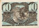 Austria, 10 Heller, FS 1174b