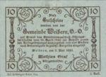 Austria, 10 Heller, FS 1146b