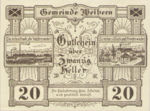 Austria, 20 Heller, FS 1146b