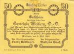 Austria, 50 Heller, FS 1146b