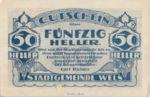 Austria, 50 Heller, FS 1167II.2
