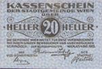 Austria, 20 Heller, FS 1183IIa