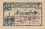 Austria, 50 Heller, FS 1183IIbA