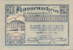 Austria, 20 Heller, FS 1166a