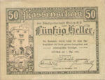 Austria, 50 Heller, FS 1166a