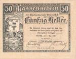 Austria, 50 Heller, FS 1166f