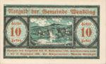 Austria, 10 Heller, FS 1170a
