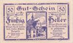 Austria, 50 Heller, FS 1175