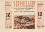 Austria, 10 Heller, FS 1238Ia