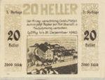 Austria, 20 Heller, FS 1238Ia