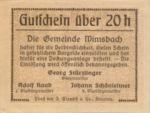 Austria, 20 Heller, FS 1240aE