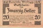 Austria, 20 Heller, FS 1241Iax