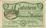 Austria, 10 Heller, FS 1246e