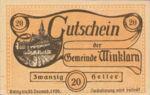 Austria, 20 Heller, FS 1246e