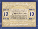 Austria, 10 Heller, FS 1247a