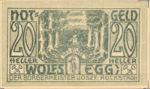 Austria, 20 Heller, FS 1250II