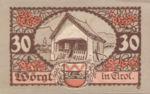 Austria, 30 Heller, FS 1252a