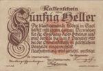 Austria, 50 Heller, FS 1252a