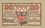 Austria, 20 Heller, FS 1252d