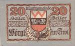 Austria, 20 Heller, FS 1252f