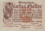 Austria, 50 Heller, FS 1252f