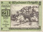 Austria, 20 Heller, FS 1122.7IIc
