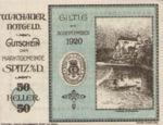 Austria, 50 Heller, FS 1122.10IIc