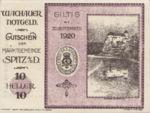 Austria, 10 Heller, FS 1122.10IIa