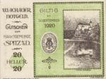 Austria, 20 Heller, FS 1122.10IIa
