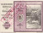 Austria, 10 Heller, FS 1122.10IIb