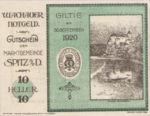 Austria, 10 Heller, FS 1122.10IIf