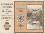 Austria, 50 Heller, FS 1122.10IIf