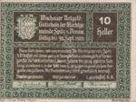 Austria, 10 Heller, FS 1122.12IIf