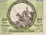 Austria, 20 Heller, FS 1122.13IIb