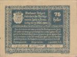 Austria, 75 Heller, FS 1122.1IIIa