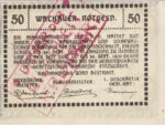 Austria, 50 Heller, FS 1122.3IIb