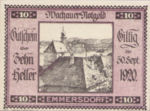 Austria, 10 Heller, FS 1122.5IIc