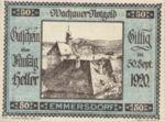 Austria, 50 Heller, FS 1122.5IIc