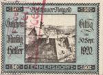 Austria, 50 Heller, FS 1122.5IId