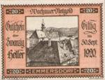 Austria, 20 Heller, FS 1122.5IIf