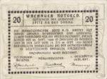 Austria, 20 Heller, FS 1122.6IIc