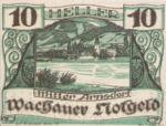 Austria, 10 Heller, FS 1122.6IIf