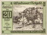 Austria, 20 Heller, FS 1122.7IIa