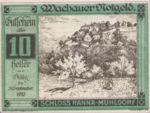 Austria, 10 Heller, FS 1122.7IIf