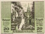 Austria, 20 Heller, FS 1122.8IIc