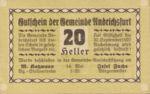 Austria, 20 Heller, FS 41