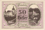 Austria, 50 Heller, FS 61IA1