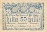 Austria, 50 Heller, FS 1h
