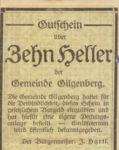 Austria, 10 Heller, FS 236a