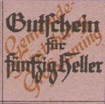 Austria, 50 Heller, FS 296IIIc